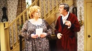 Hattie Jacques and Eric Sykes in Sykes