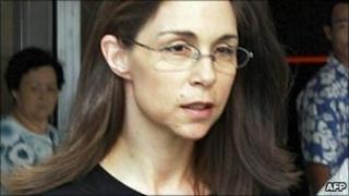 File photo taken on 4 August 2005 shows US citizen Nancy Kissel