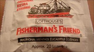 Packet of Fisherman's Friend