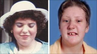 Fiona Pilkington and her disabled daughter Francecca who suffered years of abuse.