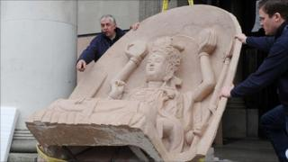 Dazu carving