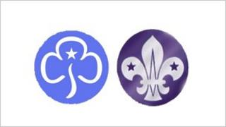 Guide and Scout logos