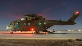 Merlin helicopter