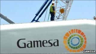 Gamesa wind turbine