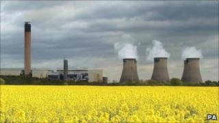 Drax power station in North Yorkshire, UK