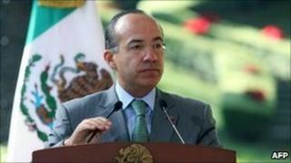 Felipe Calderon in December 2010