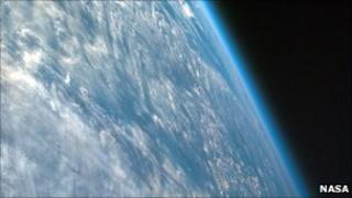 Earth clouds (Nasa)