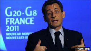 French President Nicolas Sarkozy (24 Jan 2011)