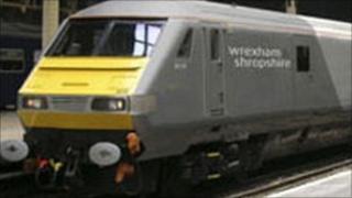 Wrexham train