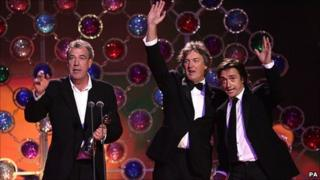 Jeremy Clarkson, James May and Richard Hammond