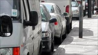 On-street parking - generic