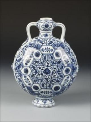 The Ming vase to be sold at auction