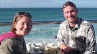 Jo Yeates and boyfriend Greg Reardon