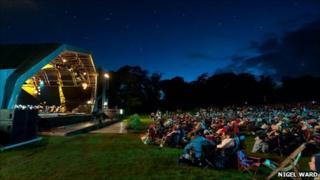 The 2010 concert at Swansea's Singleton Park