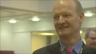 David Willetts at Pfizer in Sandwich