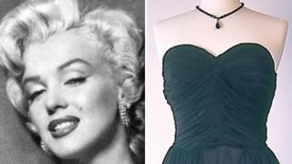 Marilyn Monroe and the dress