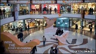 Indian shopping mall