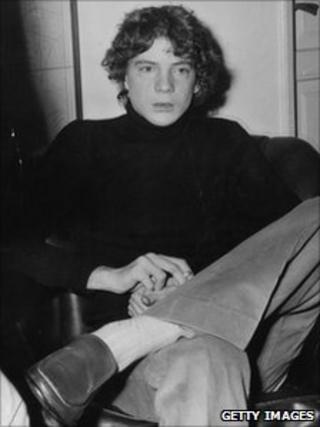 John Paul Getty III in December 1973