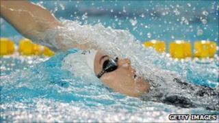 Dutch swimmer Femke Heemskerk