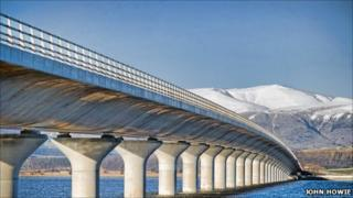 Clackmannanshire Bridge by John Howie