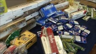 Smuggled and counterfeit tobacco products