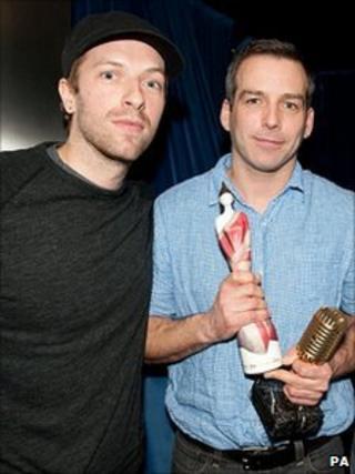 Chris Martin and Markus Dravs