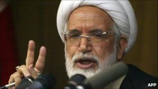 Mehdi Karroubi (file)