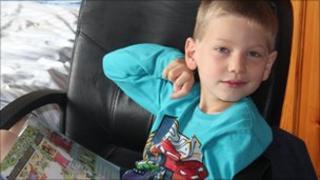 Peter Wolffsohn, aged 7