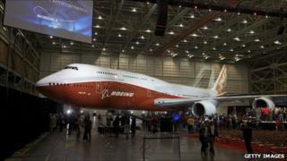 New Boeing 747-8 Intercontinental