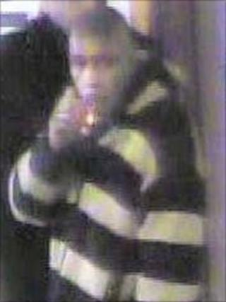 CCTV image of man police wish to speak to in connection with a serious sexual assault