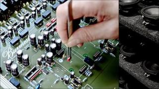 Precision hand made audio component