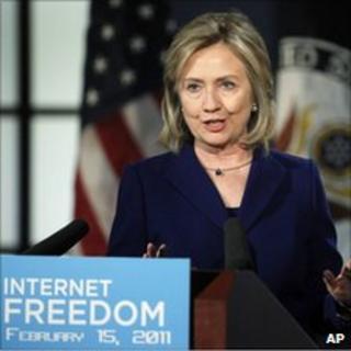 US Secretary of State Hillary Clinton, 15 Feb 2011