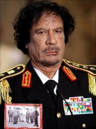 Muammar Gaddafi in Rome - 10 June 2009