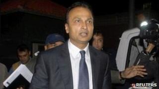 Anil Ambani leaves the CBI office in Delhi on 16 Feb 2011