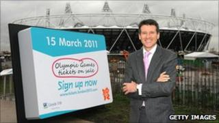 Seb Coe at the Olympic site