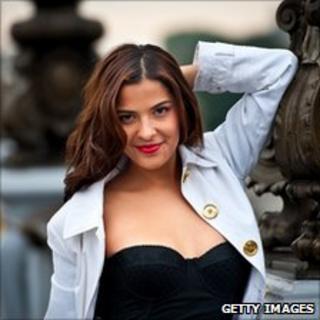 Brazilian model Gyselle Soares, September 2010, Paris