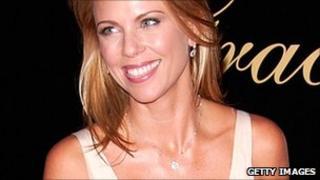 Lara Logan at the 33rd Annual Gracie Allen Awards, May 2008