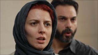 Leila Hatami and Peyman Moaadi