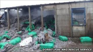 The fire at Casterbridge Trading Estate