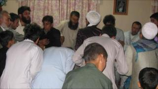 Sufi practitioners in Afghanistan