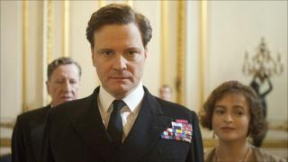 Colin Firth in a scene from The King's Speech