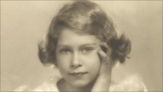 Princess Elizabeth poses for a photograph on 1 November 1934