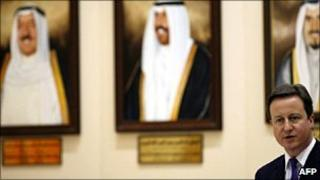 David Cameron speaks at Kuwait's parliament