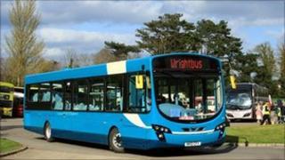 Wrightbus vehicle