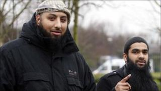 Mohammad Haque (left) and Emdadur Choudhury