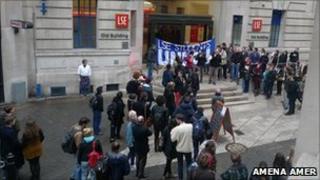 LSE protest