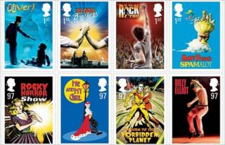 Royal Mail musical stamps