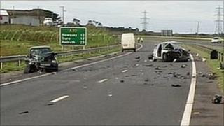 A30 crash