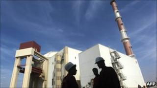 Bushehr nuclear plant (26 October 2010)