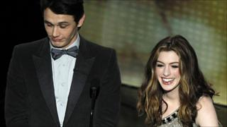 James Franco and Anne Hathaway